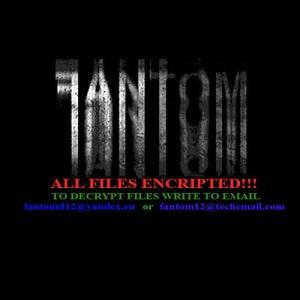 Fantom Ransomware