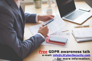 Free GDPR talk