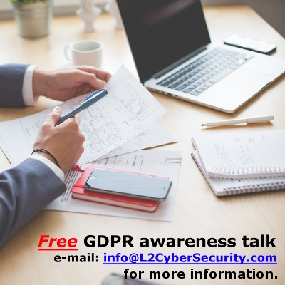 Free GDPR talk is available