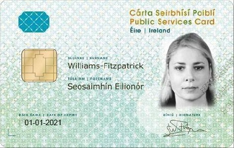 PSC - Public Services Card