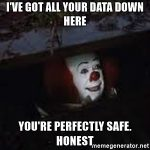 data breach clown