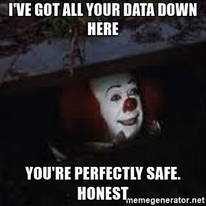 data breaches clown