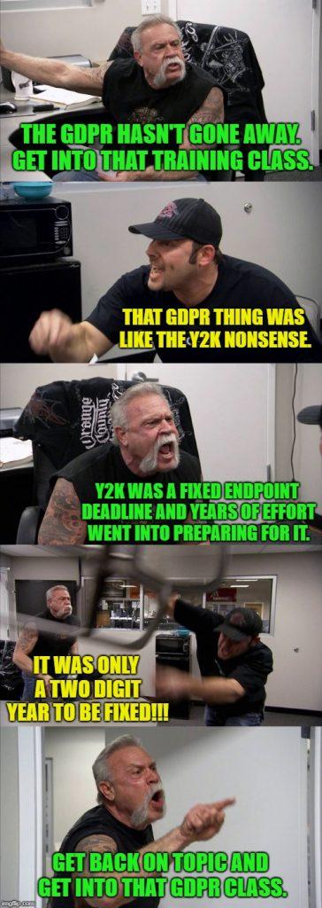 GDPR hasn't gone away